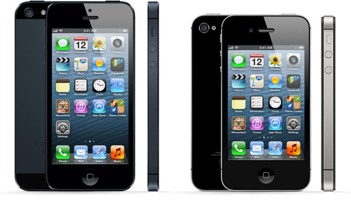 iPhone 5 or iPhone 4S