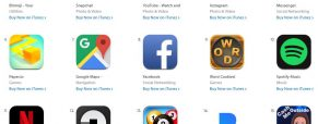 The Most Played Apps on iOS devices