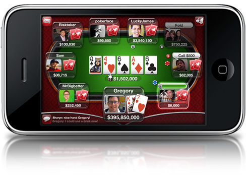 Playing Poker on Your iPhone