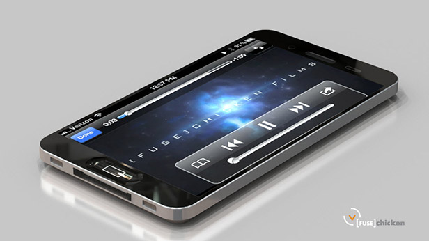 Awesome iPhone 5 LiquidMetal Design