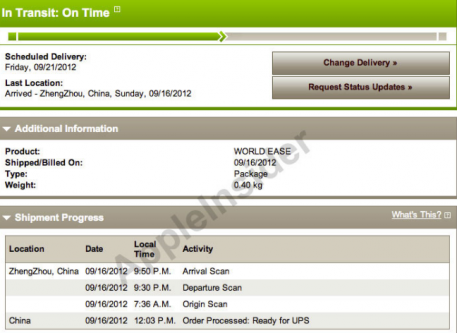 Apple iPhone 5 first orders on its way