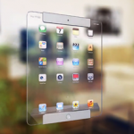 Transparent iPad Concept
